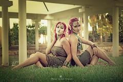 (MCarballo) Tags: 2016 alicante elpameral mariafndez oliviabeekman parque tfcdalicante modelos verano