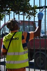 Kennedy1 (Genova citt digitale) Tags: richiedenti asilo genova piazzale kennedy agosto 2016 volontari nigeria lavoro ilva
