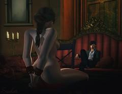 Across The Room (Scarlett Rhea - Bad Apple) Tags: nude tied sexy moody lavish velvet