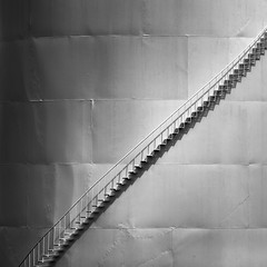 Stairs (Darren LoPrinzi) Tags: 5d canon5d canon blackwhite bw mono monochrome stairs steps grey light shadow f64g78r3win