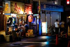 Rainy Days (H.H. Mahal Alysheba) Tags: japan tokyo snapshot shitamachi night street rain nikon d800 afs nikkor 105mmf14