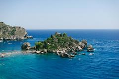 Isola Bella (Little wanderer) Tags: d610 50f14 sicilia taormina sicily sea isola bella trip journey nature