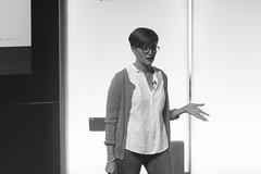 Miriam Hernanz, responsable del Laboratorio de Innovacion Audiovisual de RTVE (Casa de Amrica) Tags: casa de americas periodismo tecnologia comunicazione victornuez elpais rve vocento miriamhernanz borjabergareche temas temastv movil smartphone internet digital vocentolab telefonos moviles redessociales snapchat news