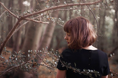 (audreyblackthorn) Tags: self portrait forest autumn fall woods