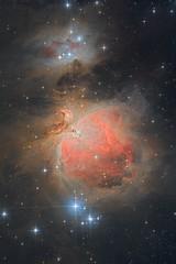 M42 Orion nebula (vladimir_gushchin) Tags: m42 orion nebula astronomy astrophotography ngc1977 deepsky astrophoto