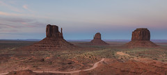 What makes the desert beautiful is that somewhere it hides a well (ferpectshotz) Tags: monumentvalley arizona utah mesa butte navajo desert navajonation sunset sky