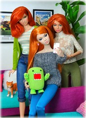 Red Selfie (MiskatonicNick) Tags: poppyparker sweetinswitzerland anja regalsolstice dolls integritytoys