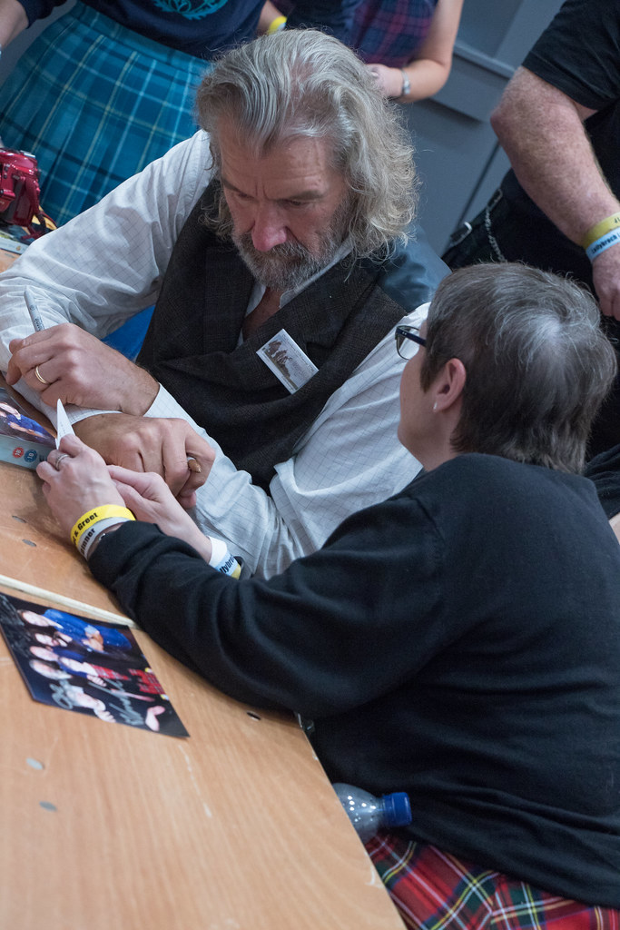 The worlds best photos of edinburgh and russell flickr hive mind meet amp greet dr stephenie mcgucken tags scotcon outlander edinburgh clive russell m4hsunfo