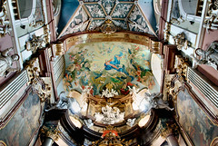 interior.......... (atsjebosma) Tags: church kerk interior interieur poland polen klotsko atsjebosma 2016 blessedvirginmary 12thcentury 12deeeuw