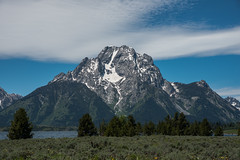 Mountain View - Hermitage Point - Colter Bay - Grand Teton National Park - Wyoming - 21 June 2016 (goatlockerguns) Tags: mountain view hermitage point colter bay grand teton national park wyoming usa unitedstatesofamerica west western nature natural nationalpark lake pond forest trees tree trail