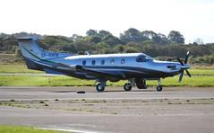 SP-NWM (goweravig) Tags: spnwm pilatus pc12 swansea wales uk visiting aircraft swanseaairport press glass corporation