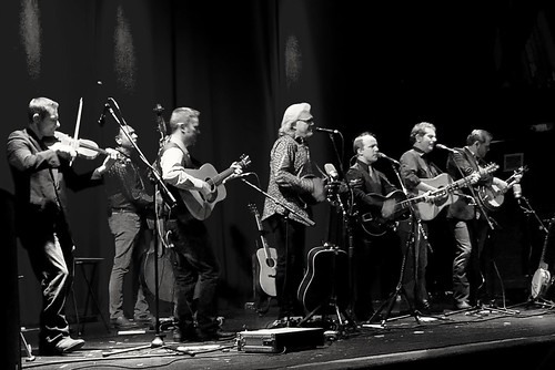 Ricky Skaggs was playing last night in town.  Was a great concert.