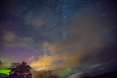 Northern Lights over Loch Fyne (BusterBB001) Tags: scotland loch fyne argyll buster nature northernlights house night longexposure light inverary jail shells stones coast water beautiful dew picoftheday