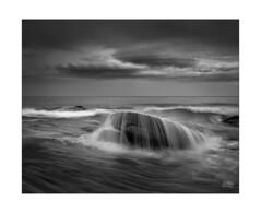 The shroud of Bungan (Mike Hankey.) Tags: bungan rainmidtide focus sunrise cloud