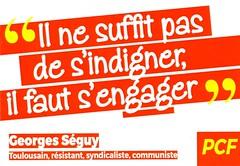 Autocollant du PCF section Haute Garonne - 2016 (SuperPlancton) Tags: autocollant communiste communist france   pcf communisme  comunisme comunismo