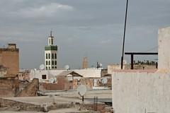 Meknes, Morocco (DavideGorla) Tags: مكناس fes minaret madrasabouinani fez
