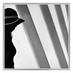 F_DSC9197-1-1-BW-Nikon D800E-Nikkor 28-300mm-May Lee  (May-margy) Tags:  maymargy bw       streetviewphotographytaiwan  linesformandlightandshadows  mylensandmyimagination  naturalcoincidencethrumylens humaningeometry    fdsc919711bw portrait silhouette columns corridor yulincounty taiwan repofchina nikond800e nikkor28300mm maylee