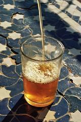 (michel nguie) Tags: michelnguie film analog vertical glass tea mint stars fes fs fez marocco africa medina cup