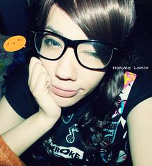 DSCN1646 (Haruko Lanix ~) Tags: cute fashion asian cosplay korea kawaii otaku latinos nerdy gyaru selca ulzzang uljjang latinulzzang harukolanix eoljjan