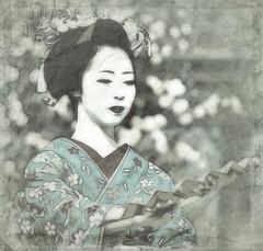 Savoir aussi dessiner - 04 (Stphane Barbery) Tags: portrait japan kyoto maiko geiko geisha   gion japon odori