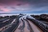 Barrika (raul_lg) Tags: sea seascape clouds canon landscape mar spain paisaje bilbao amanecer lee nubes rocas paisvasco largaexposicion canon1635 raullg singhrayreversegrad09