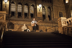 Frederik Lunde @ Natural History Museum (William Vinther) Tags: england musician music london history museum canon photography eos concert with natural live william danish 5d lates mastercard mkii frederik lange vinther