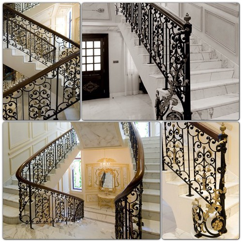wroughtiron handrail handcraft abudhabi dubai uae unitedarabemirates dxb ad luxury home interiordesign design decor interior by