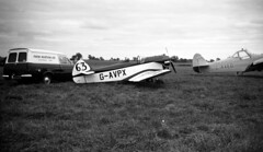 mystery - Taylor JT.1 Monoplane g-avpx where please c75 JL (johnmightycat1) Tags: hertfordshire airfield monoplane