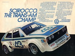 1977 Volkswagen Scirocco Advertisement Car And Driver September 1977 (SenseiAlan) Tags: car volkswagen september advertisement and driver 1977 scirocco