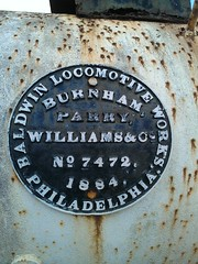 Cuba 7 April 2013 (209) (paul_appleyard) Tags: philadelphia williams no cuba parry works locomotive baldwin burnham 1884 7472