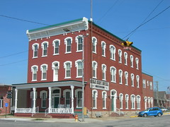 The Gold Dust Hotel (jimmywayne) Tags: historic kansas fredonia wilsoncounty nationalregister nrhp golddusthotel
