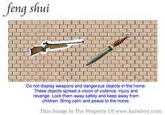 Displaying Weapons At Home Can, Cause Stress And Unrest