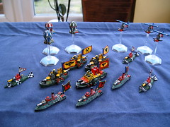 Man O War Dwarf Fleet (Godders11) Tags: dwarf citadel monitor warhammer dwarves nautilus manowar gamesworkshop dreadnought gyrocopter ironclad warballoon dreadfleet