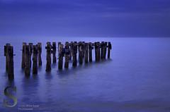Beach Pier has seen better days 3 (Singing With Light) Tags: morning beach sunrise photography pentax ct april milford k5 walnutbeach singingwithlight singingwithlightphotography pierwalnutbeachaprilctk5milfordsingingwithlightbeachmorningpentaxphotographysingingwithlightphotographysunrise