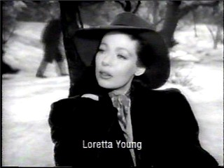 Loretta Young (1913 - 2000) in ''The Bishop's Wife'' 1947