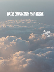 You're Gonna Carry That Weight (AsachikaSan) Tags: clouds poster that cowboy youre spike bebop weight gonna carry