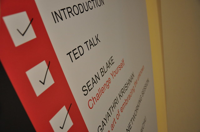 Checklist banner for TEDxManipalUniversityDubai