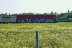 Tone (Sk8hamburger) Tags: railroad art train painting graffiti paint birth rr since ill boxcar graff piece tagging tone freight glock isb isbk isbc paint spray dmak illsincebirth