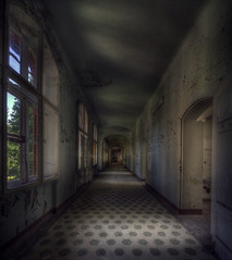 Classic Beelitz-Heilsttten  ( explore ) (andre govia.) Tags: world urban berlin abandoned film canon buildings out photo closed photos decay exploring explorer down images best andre creepy business ghosts left cinematic derelict decayed decaying ue urbex bounds decayedbuildings abandonedhospital beelitzheilsttten govia andregovia bestabandoned
