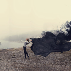 (Sophia Alexis) Tags: alexis black me nature girl norway fog photography king quote smoke stephen sophia