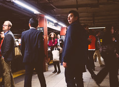 Looking back at Life (RomanK Photography) Tags: street newyorkcity subway streetphotography streettogs