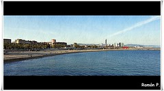Mediterraneo (# RAMÓN Mortadelo #) Tags: barcelona costa mar mediterraneo playa litoral cataluña rememberthatmomentlevel1 mortadelo65pp