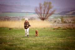 Childhood memories 2 (Kristina Kamburova (Krissy)) Tags: friends dog smile happy child play innocent together