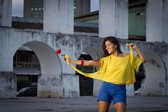 Amanda Deloy (Satoshi Oka) Tags: amanda girl rio brasil ensaio mulher rosa singer funk garota carioca oka satoshi lapa escadaria cantora deloy