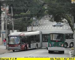 7 3816 - VIP unidade Guarapiranga (Emerson F.C.®) Tags: brazil bus brasil sãopaulo mercedesbenz ônibus articulated brt busrapidtransit articulado millenniumbrt o500uda