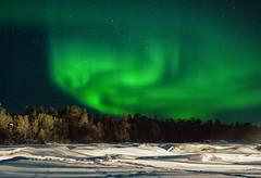 The God of the Sky (Kristin Repsher) Tags: finland nikon europe inari aurora lapland northernlights auroraborealis finnishlapland northernfinland d700 shapesinthesky afsnikkor2470mmf28ed godofthesky riverjuutua