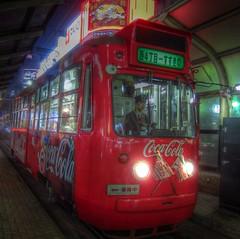 Tramcar at Sapporo on APR 23, 2013 (2) (wakkanai097) Tags: japan sapporo hokkaido tram