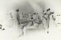 First use of the new operating theatre - October 1907 (Tasmanian Archive and Heritage Office) Tags: old hospital photo health tasmania nurse launceston launcestongeneralhospital tasmanianarchiveandheritageoffice oldphotostasmania oldtasmanianphotos