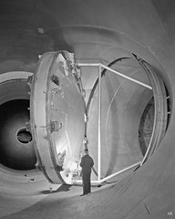 ... windy tunnel ! (x-ray delta one) Tags: sf mars 1955 illustration vintage mercury space astronaut nasa 1950s skylab scifi lifemagazine rocket sciencefiction 1960s outerspace tomorrowland apollo gemini mir cosmonaut vostok thefuture aerospace cccp saturnv soyuz worldoftomorrow spacerace spaceexploration magazineillustration maninspace robertmccall
