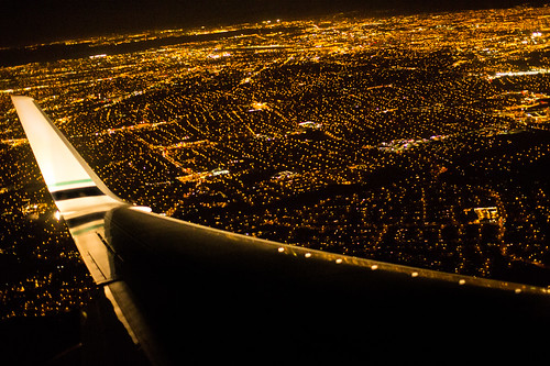 Night Approach at SJC by hjl, on Flickr